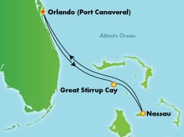 Bahamy ALL INCLUSIVE - Port Canaveral - Norwegian Sun