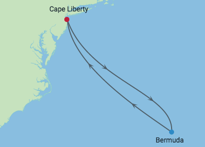Bermudy - Cape Liberty - Celebrity Summit