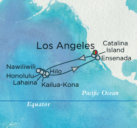 Hawaje - Los Angeles - Crystal Serenity