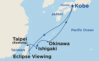 Japonia - Kobe - Diamond Princess