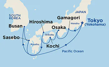 Japonia - Tokio - Diamond Princess
