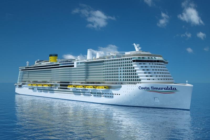 statek wycieczkowy Costa Smeralda