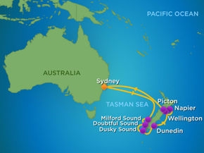 Australia, Nowa Zelandia - Sydney - Ovation in the Seas